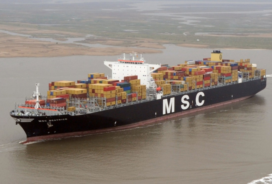 MSC Daniela построен в верфи Samsung Heavy Industry Shipyard
