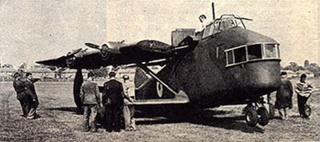 General Aircraft G. A.L. 38 Fleet Shadower в воздухе вел себя крайне неуклюже
