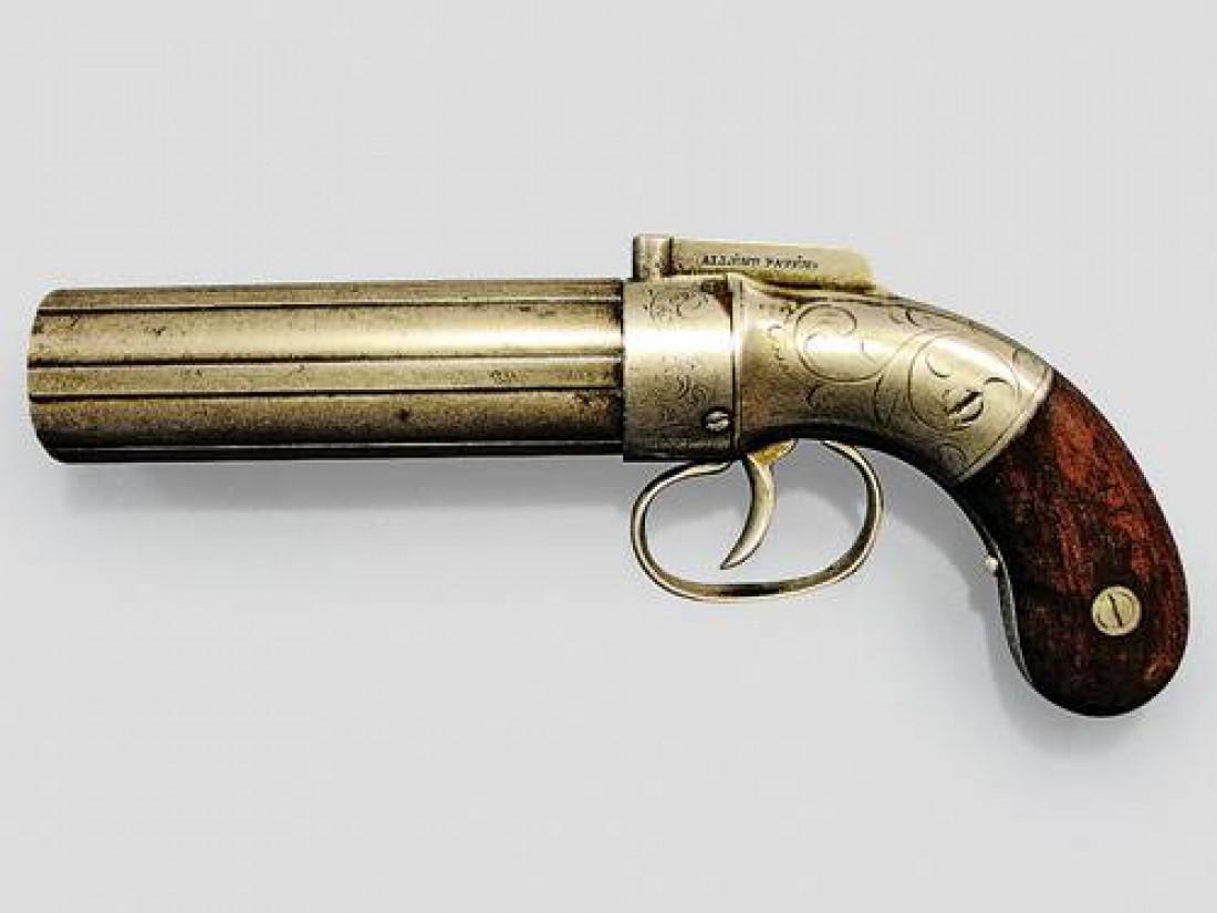 Многоствольный пистолет Тульского завода