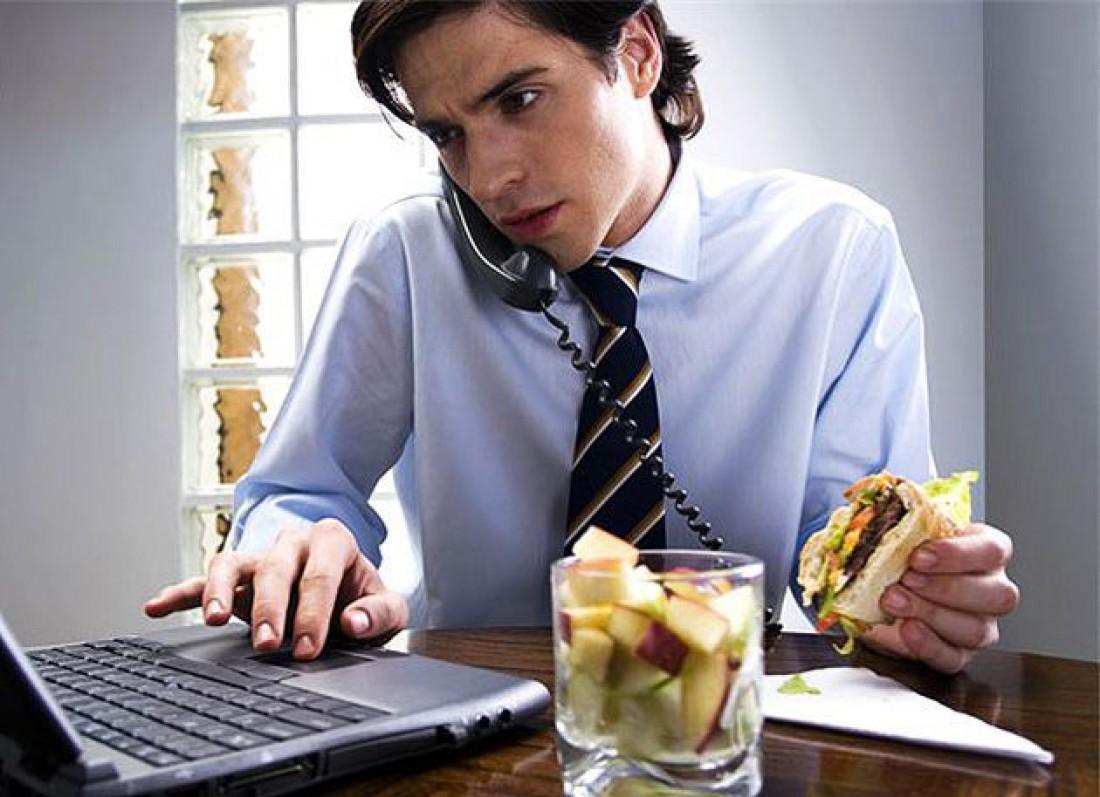 Страдаешь от голода на работе?