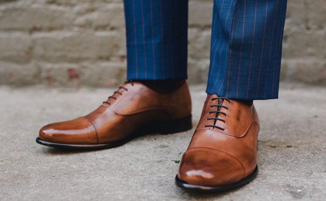 Почти универсальные коричневые туфли
