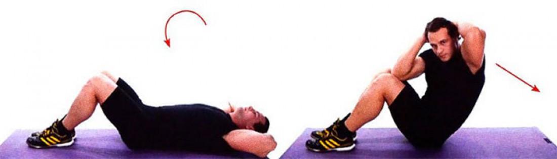 Диагональное скручивание позволят накачать косые мышцы живота