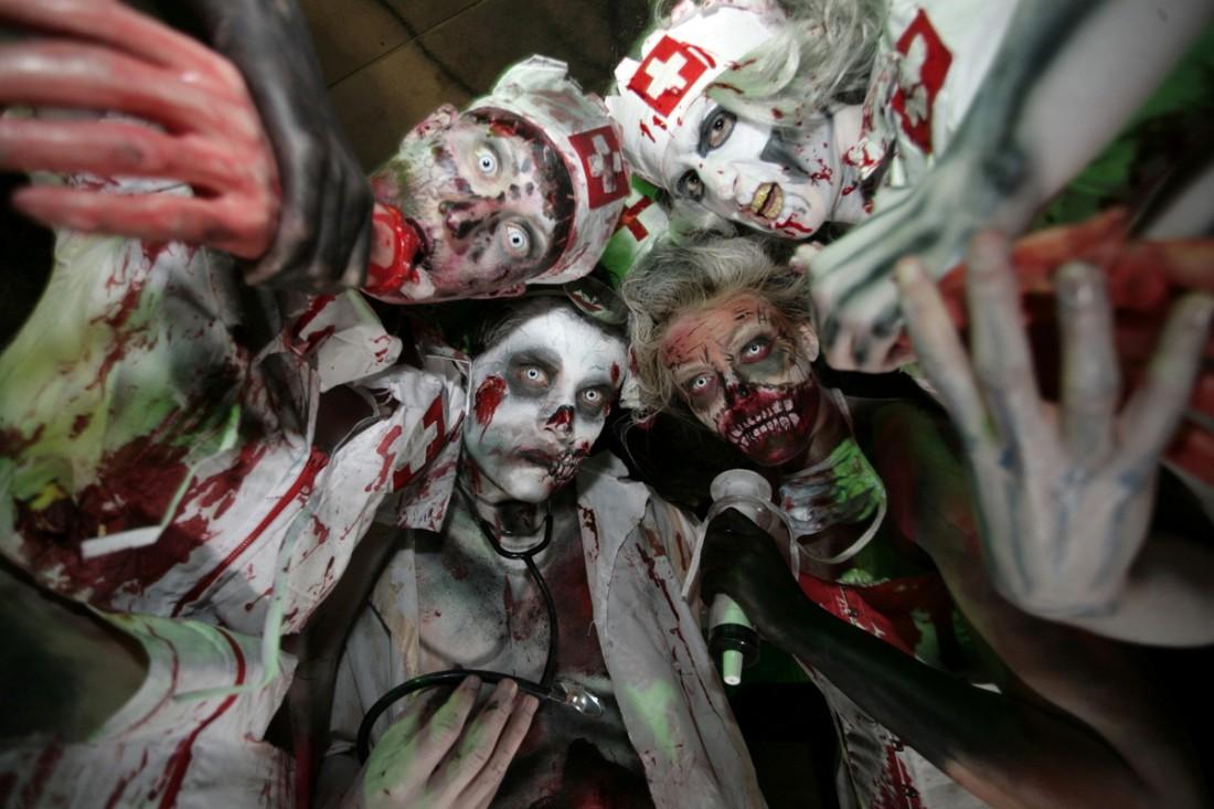 Отметь Хэллоуин достойно: заделайся в мертвечину