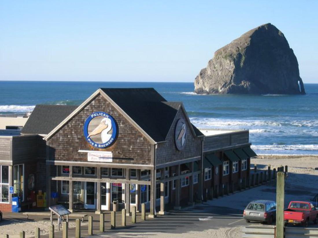 The Pelican Pub and Brewery — пивоварня на берегу Тихого океана