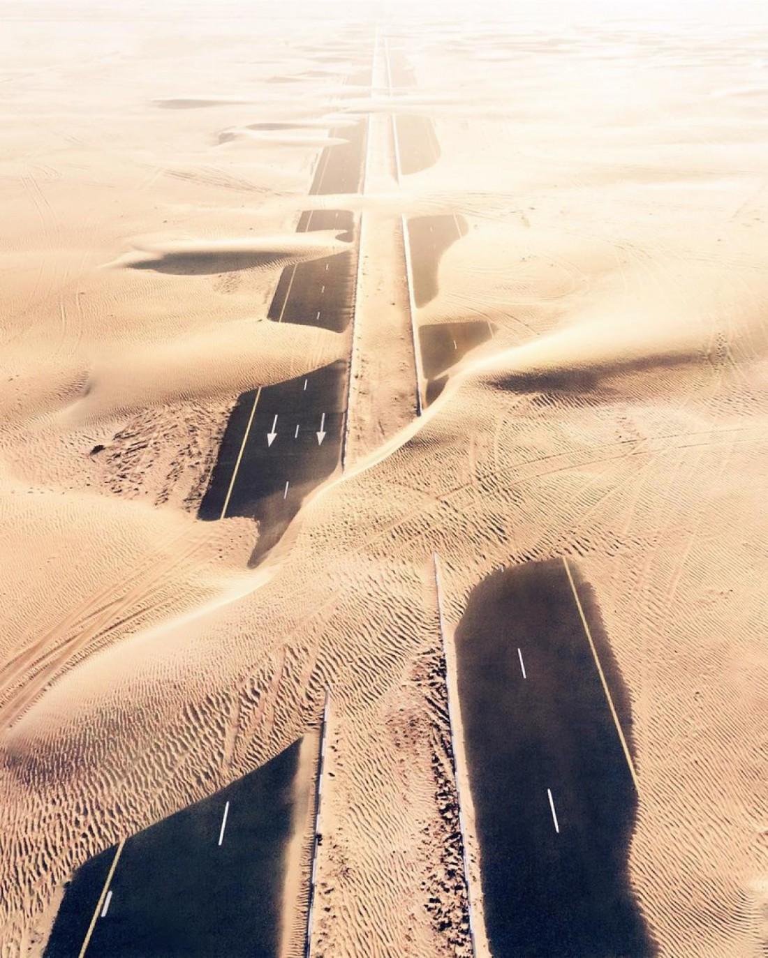 Кадр о том, как пустыня
