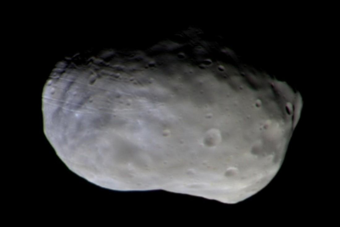 Станция TGO сфотографировала Фобос, спутник Марса