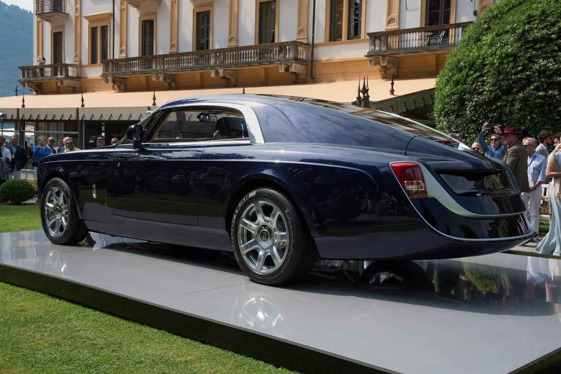 Rolls-Royce Sweptail и его растянутый зад