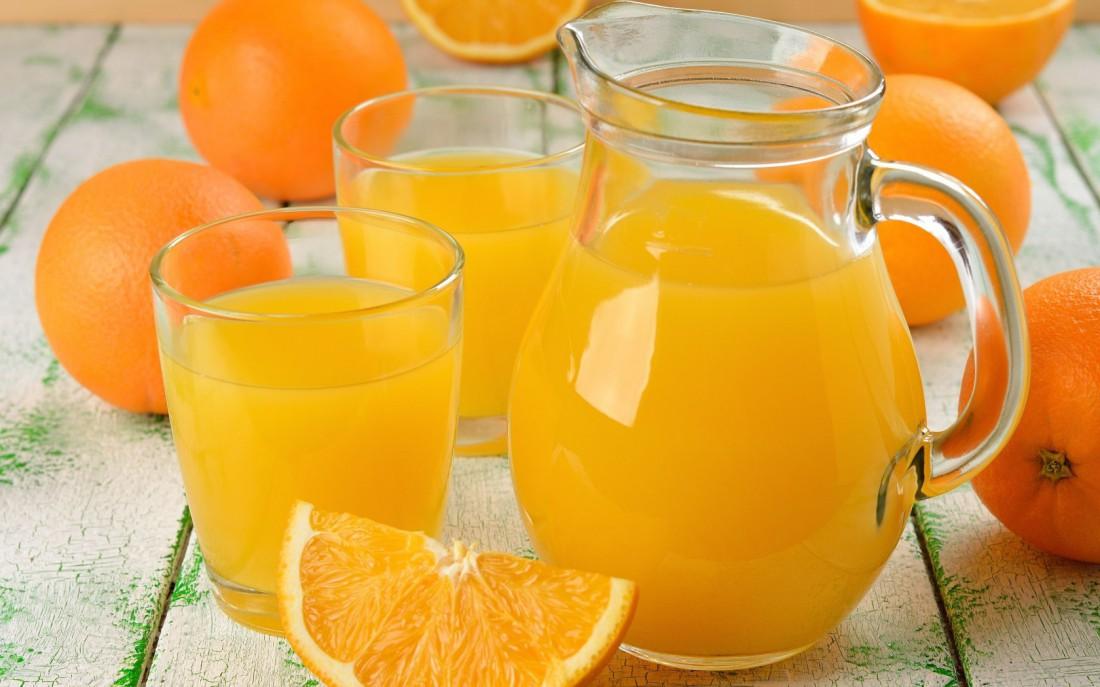 Соли в апельсиновый сок добавляй совсем чуть-чуть