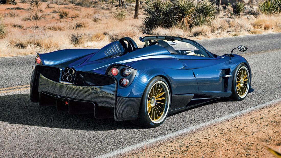 Сухая масса Pagani Huayra — 1280 кг