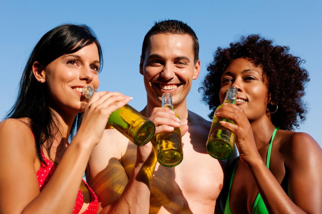 Пиво улучшает цвет кожи и состояние волос