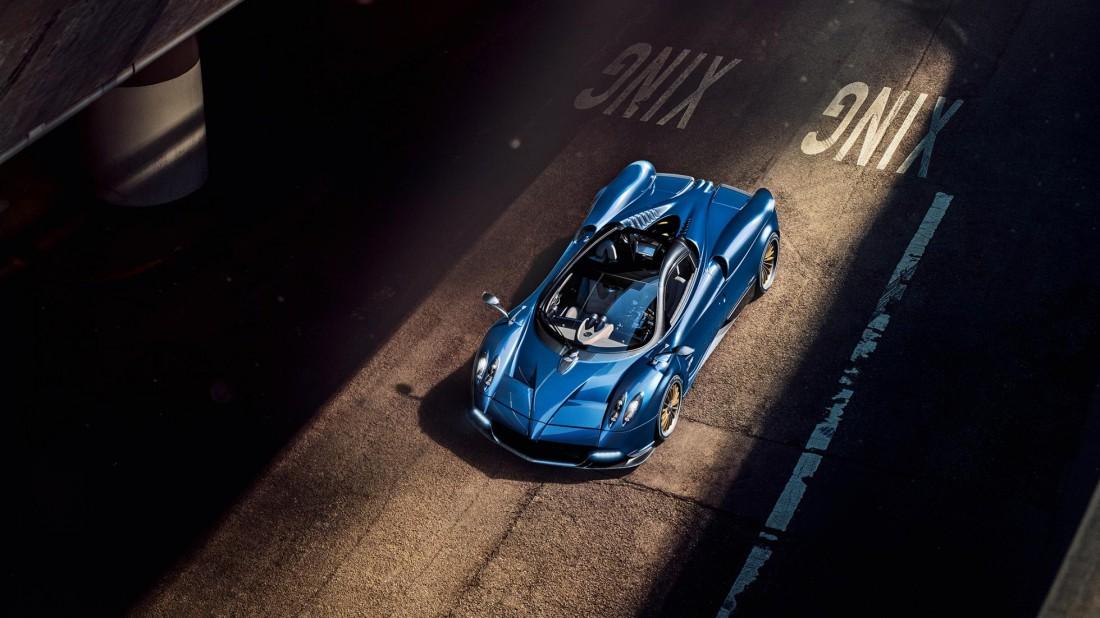 Pagani Huayra будет доступен в двух вариантах: с жесткой и откидной крышей