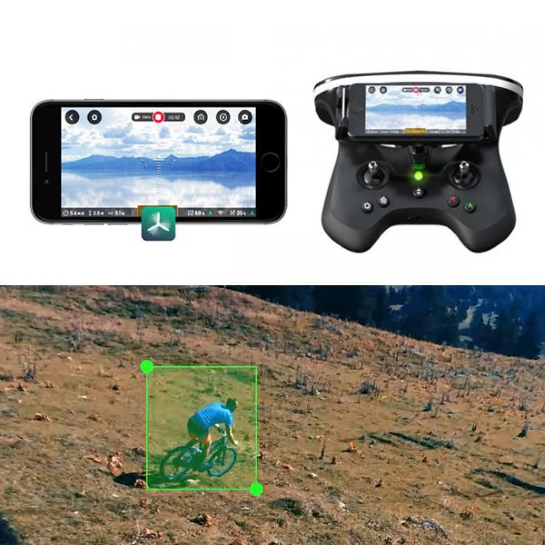 Камера Parrot Bebop 2 снимает с разрешением Full HD