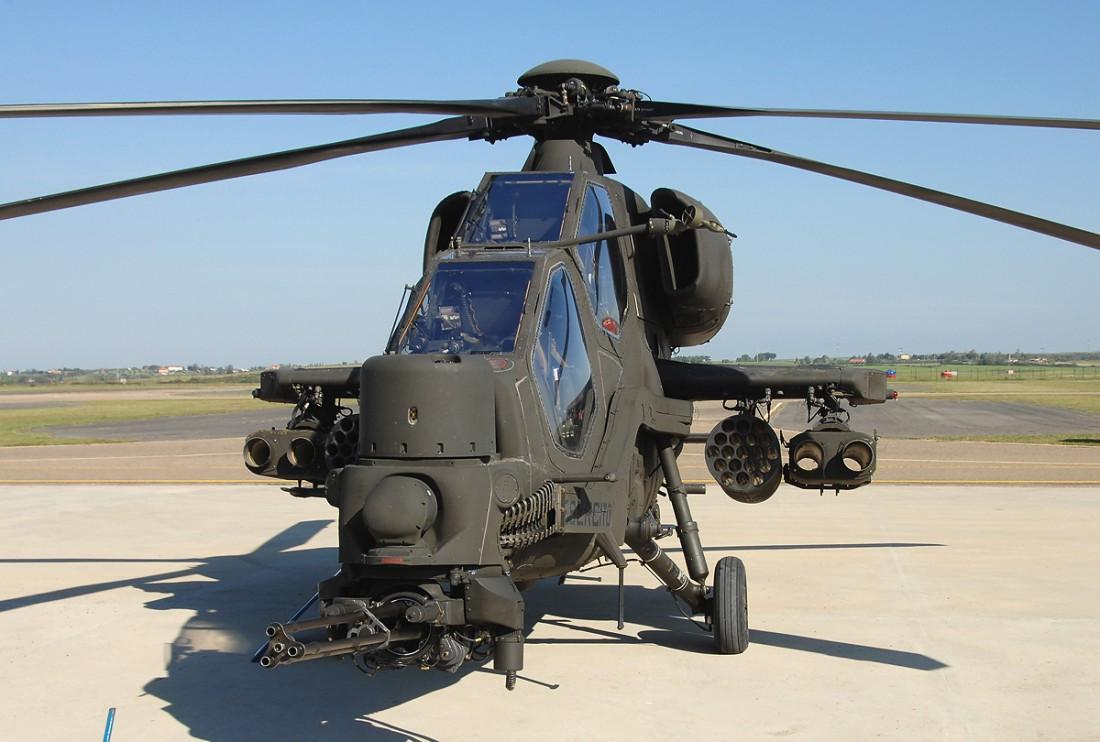 Agusta A129 Mangusta под ключ собран в Западной Европе