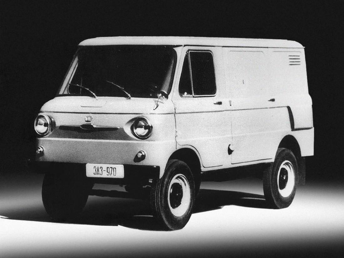 ЗАЗ-970Б. Главное различие от базовой модели — форма кузова