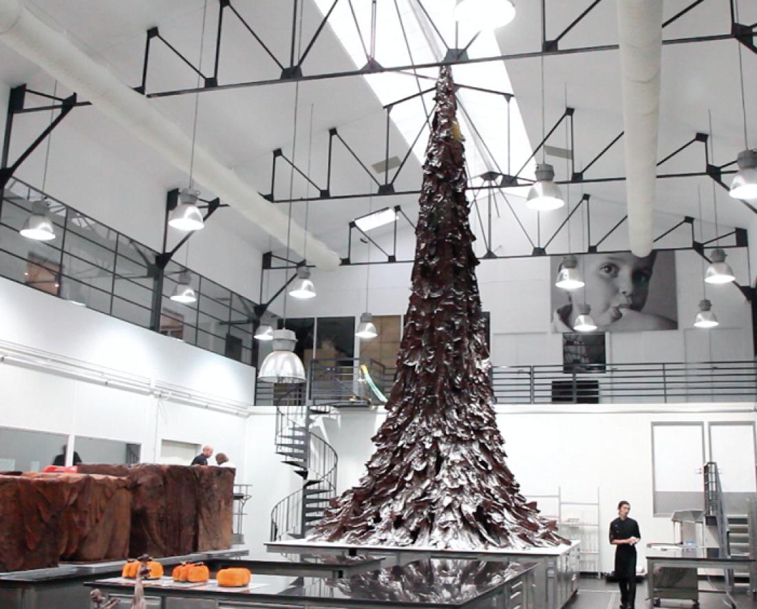 Шоколадная елка Патрика Рожера