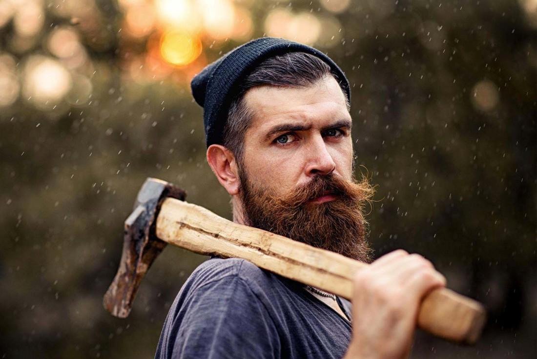 Ухаживай за бородой, чтобы не быть похожим на дровосека
