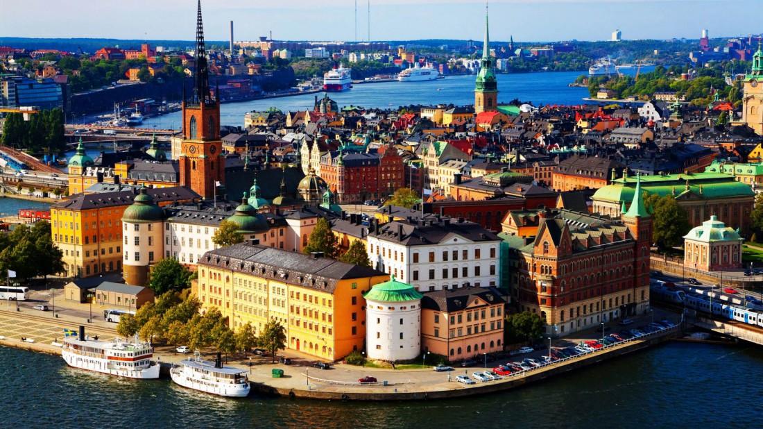Стокгольм. С XIII столетия является крупным экономическим центром страны