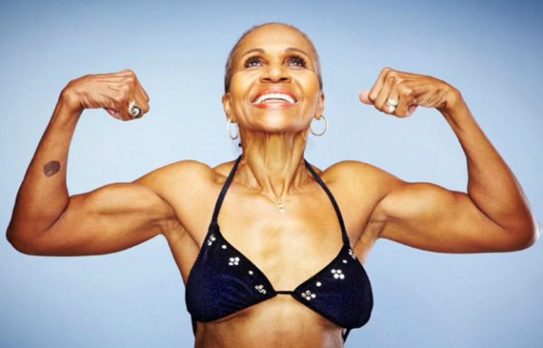 В 56 лет Эрнестин Шепард поняла, что у нее некрасивое тело. Так и решила заняться спортом