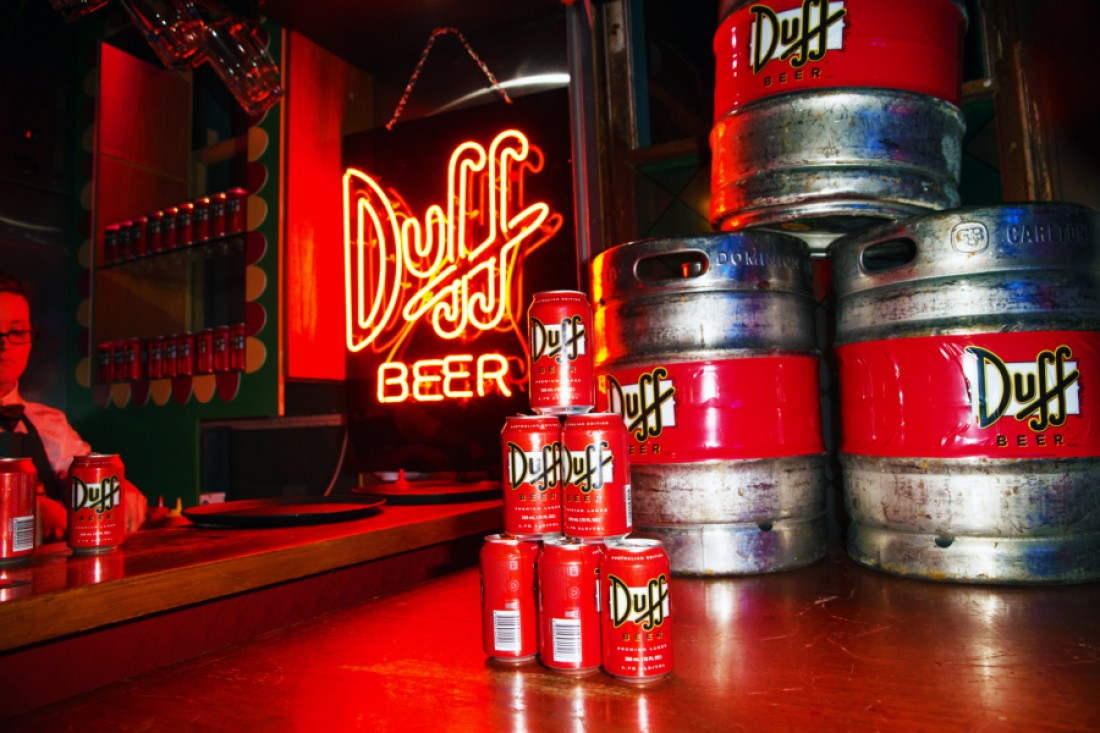 Сегодня упаковка Duff'а стоит $10 тысяч