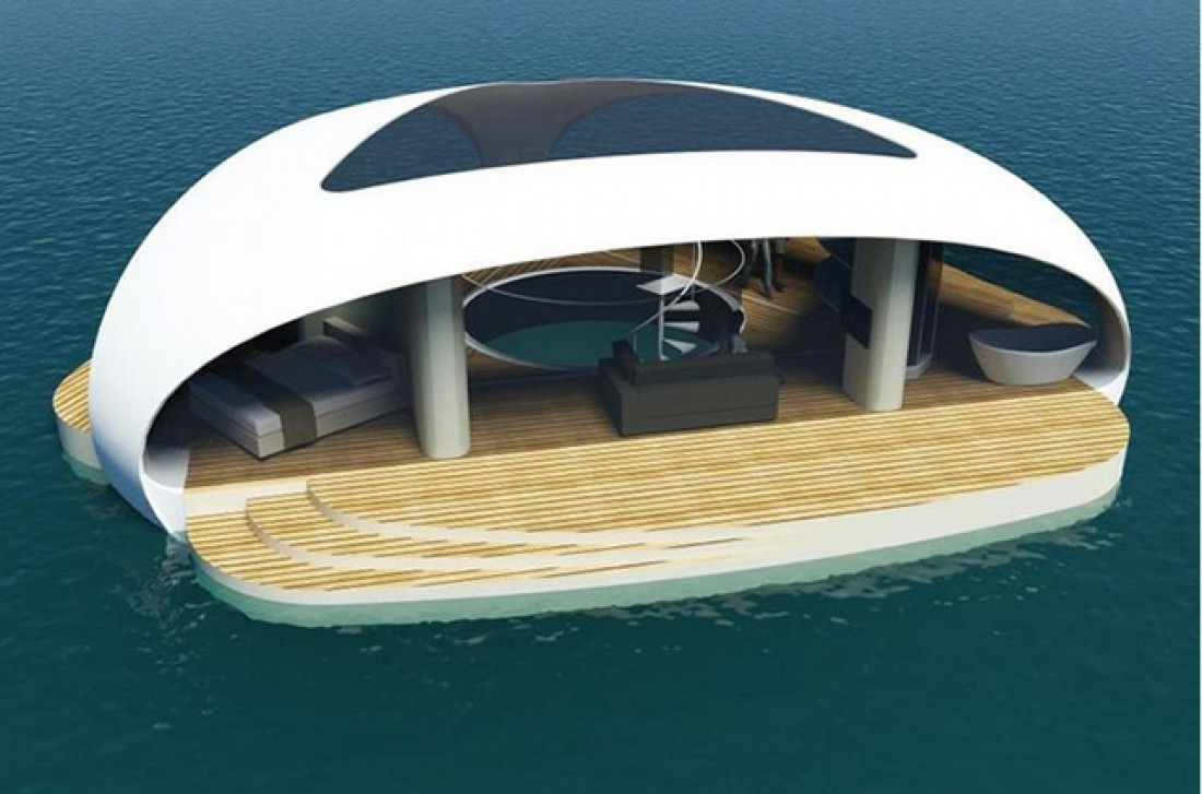 Крыша «SeaScape» будет оснащена солнечными батареями