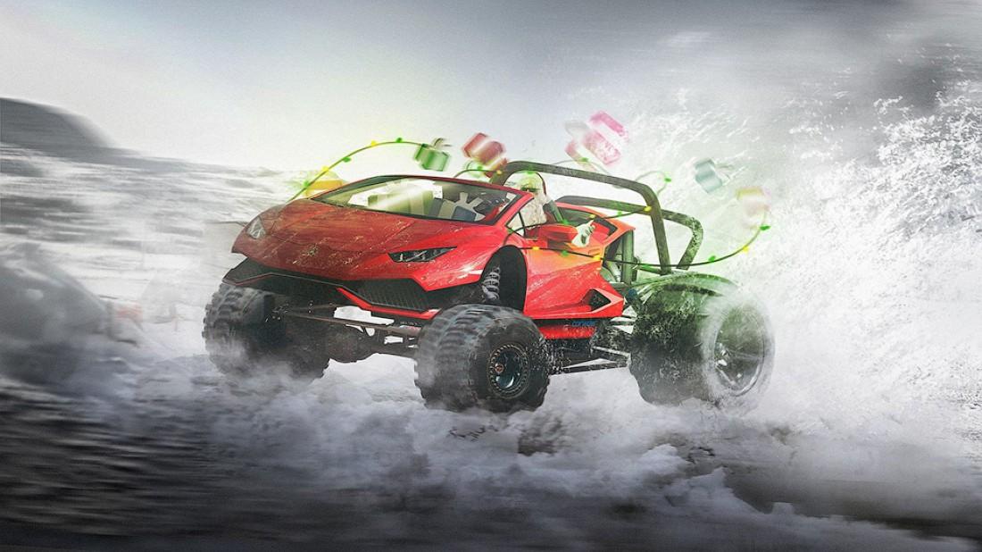 Lamborghini Huracan — для езды по пустыням
