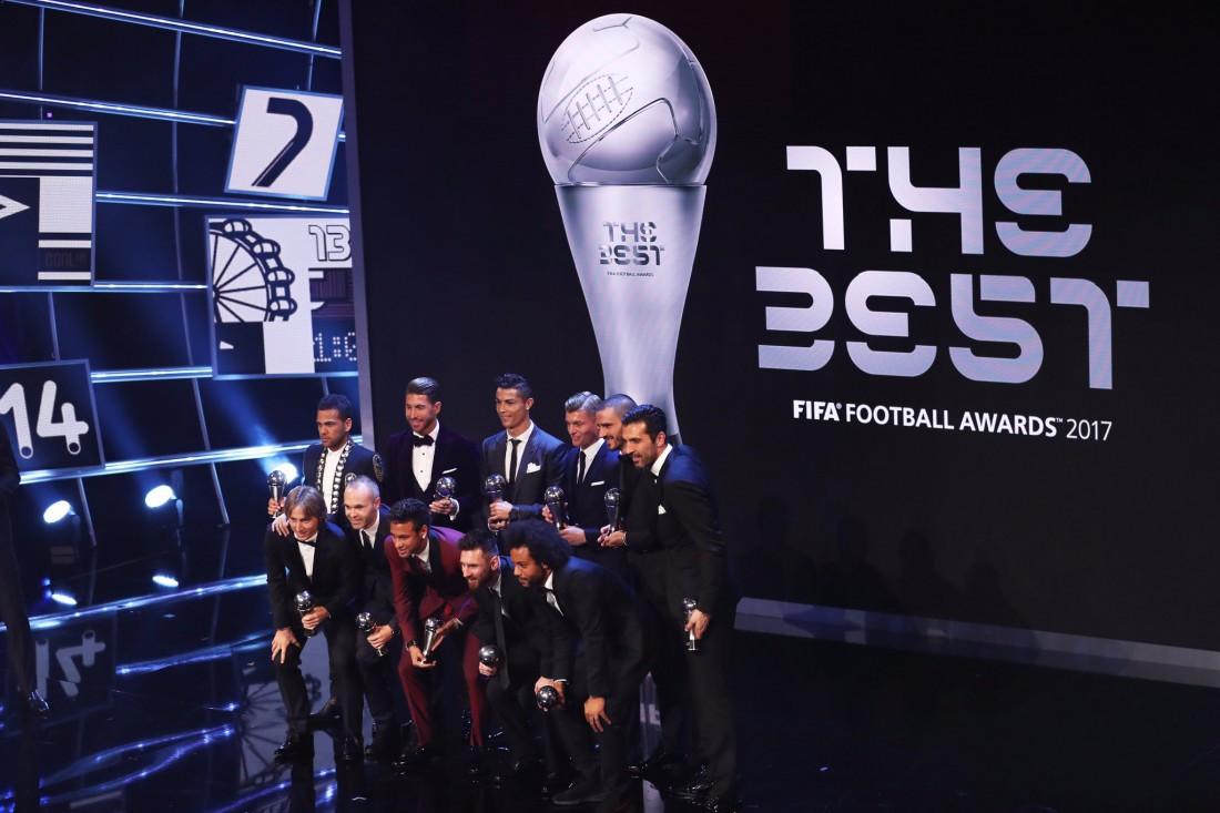 Сборная из лучших футболистов планеты на The Best FIFA Football Awards