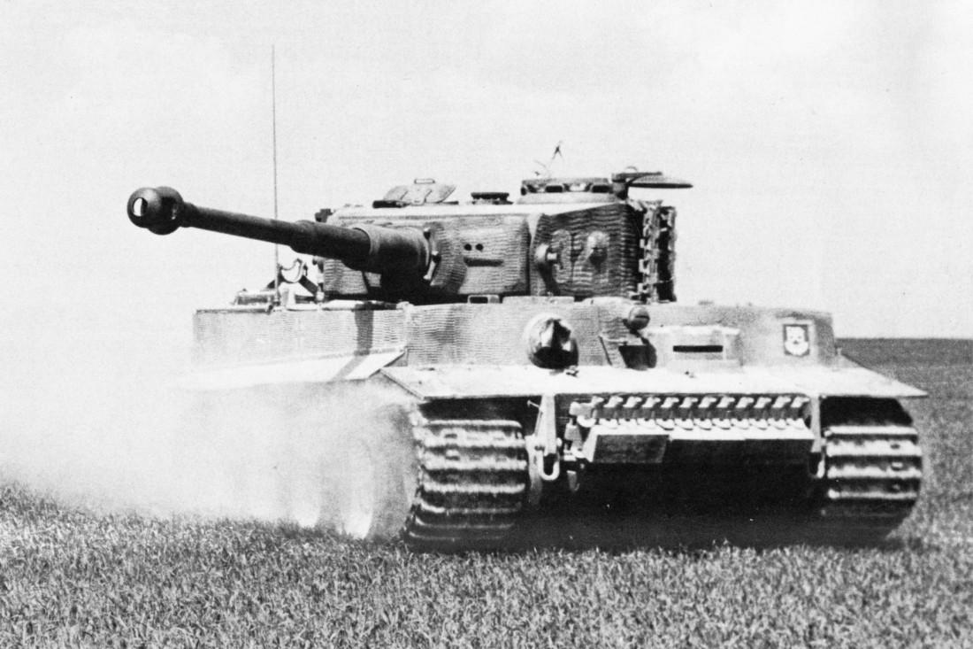 T-VI Tiger. Выпущено всего 1354 машины этого типа