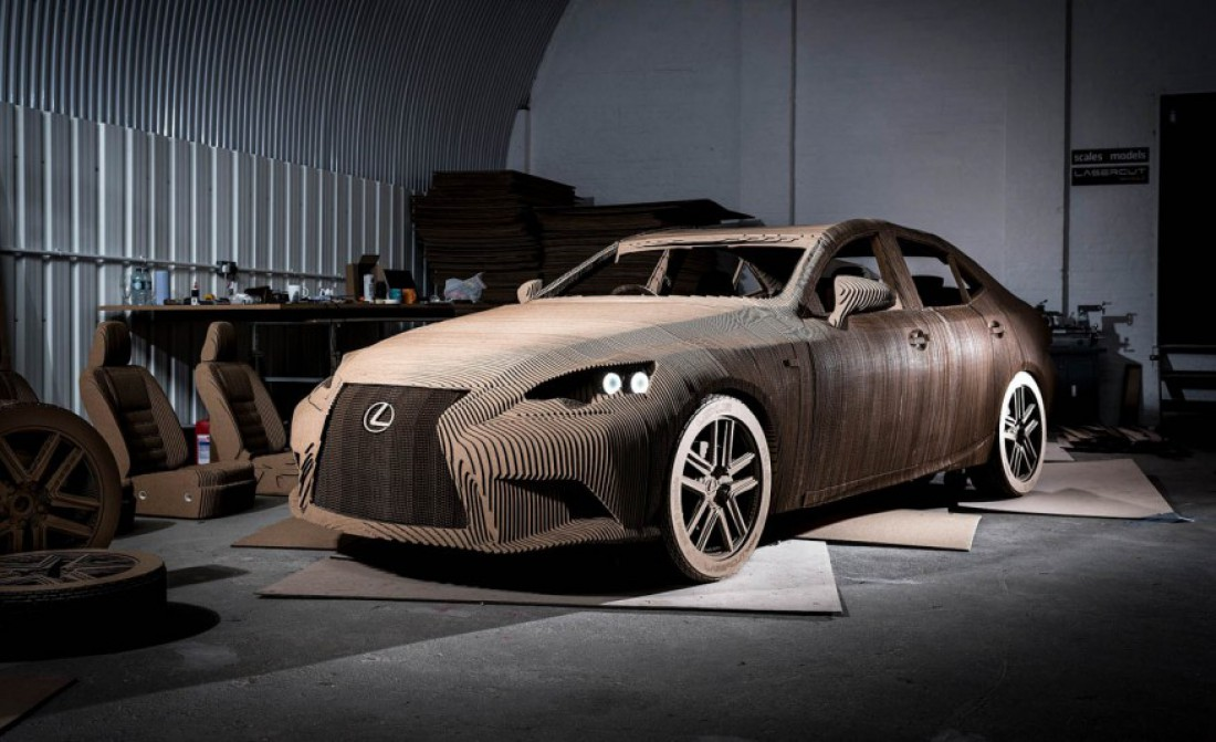 Обогнать  Lexus IS могут даже бегуны