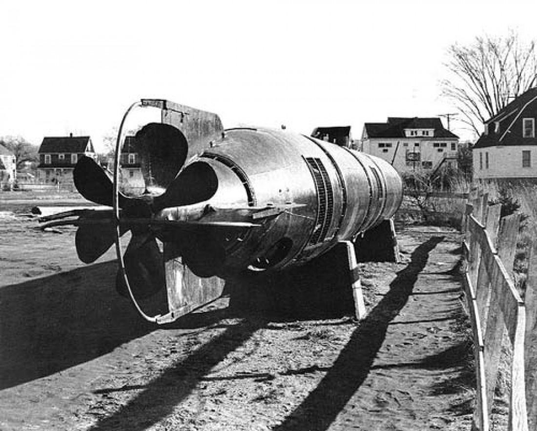 """Пилотируемая торпеда """"Кайтэн"""". Входила в состав боеприпасов для камикадзе"""