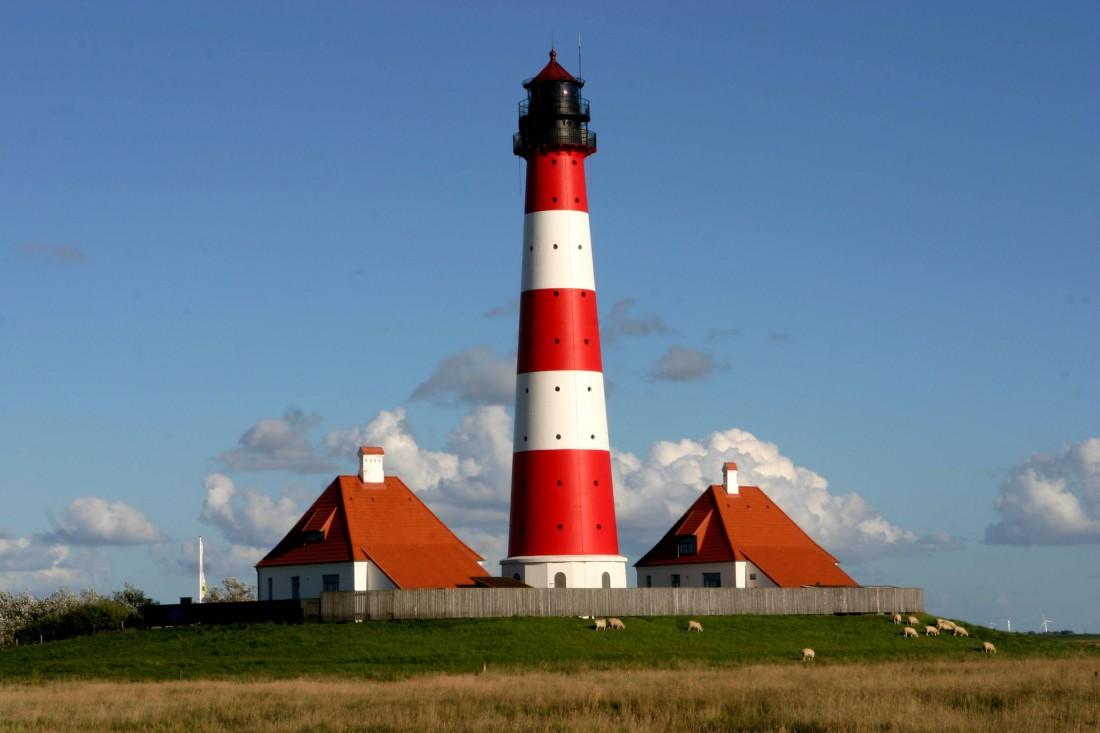Lighthouse Westerheversand, Германия