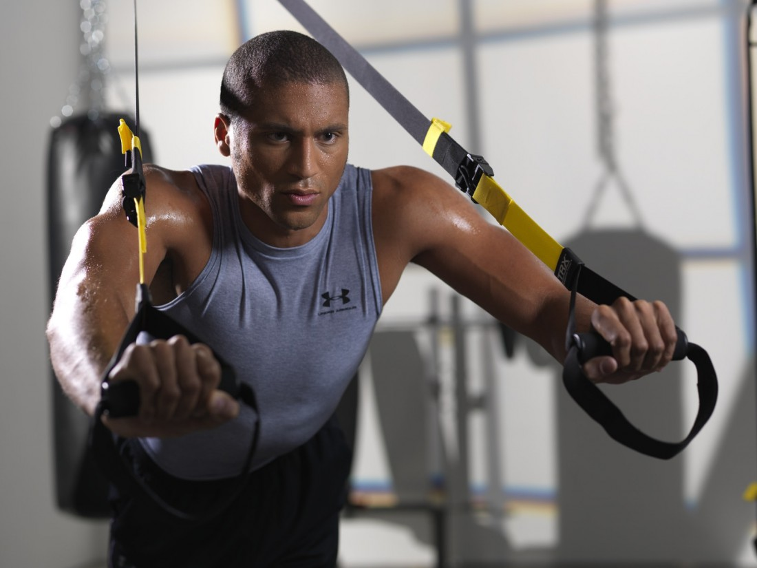 TRX развивает силу, выносливость, равновесие, координацию и гибкость