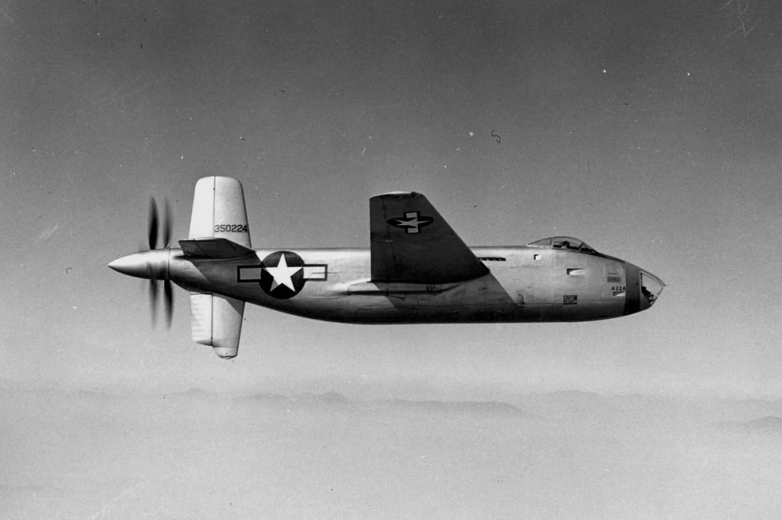 Douglas XB-42 Mixmaster. Американский экспериментальный бомбардировщик, разработанный в 1943 году