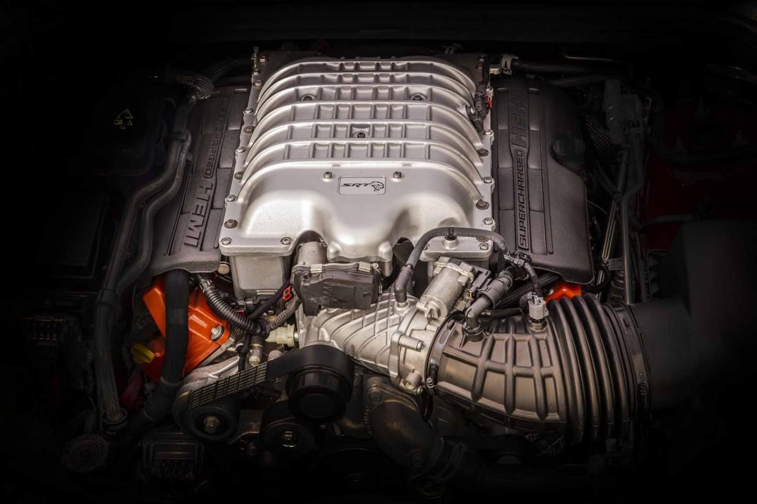 6.2-литровый V8, помещенный на борт Jeep Grand Cherokee Trackhawk