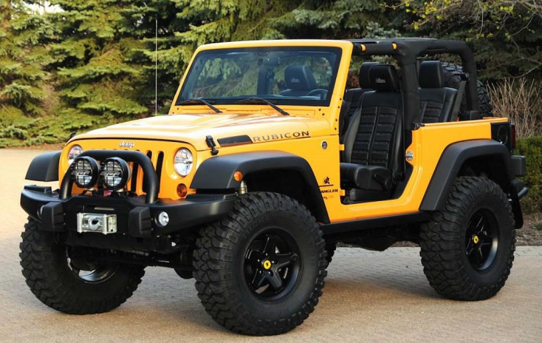 Так бы выглядел Jeep Wrangler, если бы он достался Джастину Биберу
