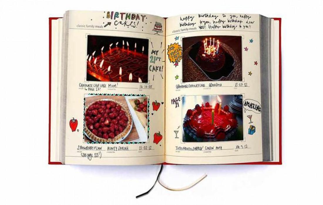 Семейная книга рецептов — $22