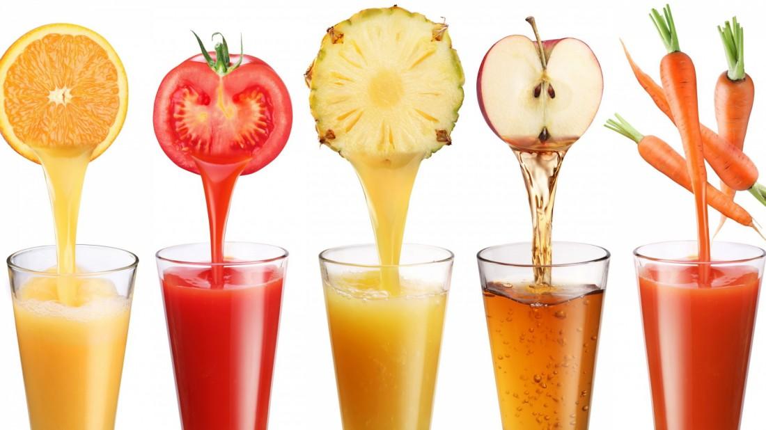 Пей фреши или соки без сахара