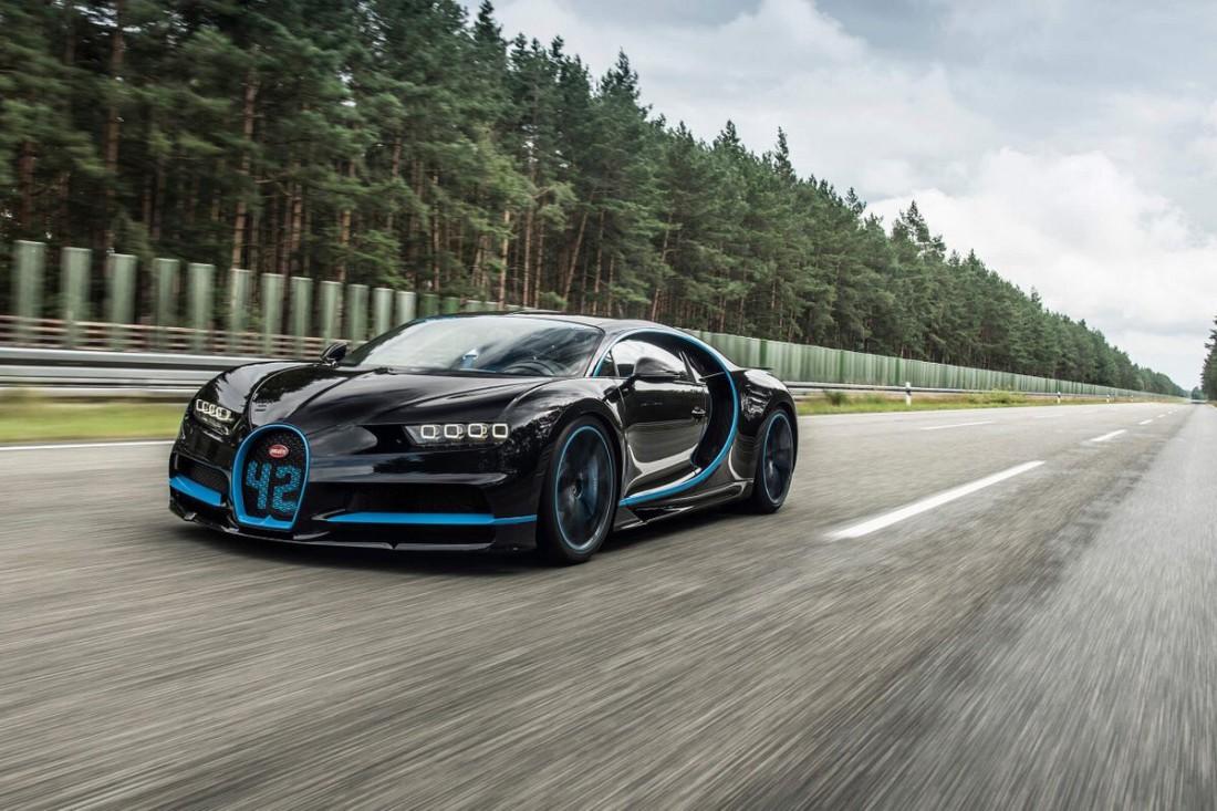 Тот самый Bugatti Chiron, который смог установить новый 42-секундный рекорд