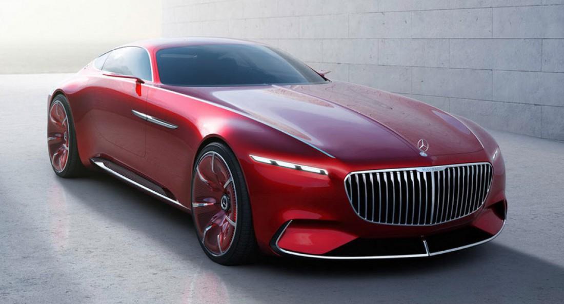 Начинка Vision Mercedes-Maybach 6 пока держится в строжайшем секрете