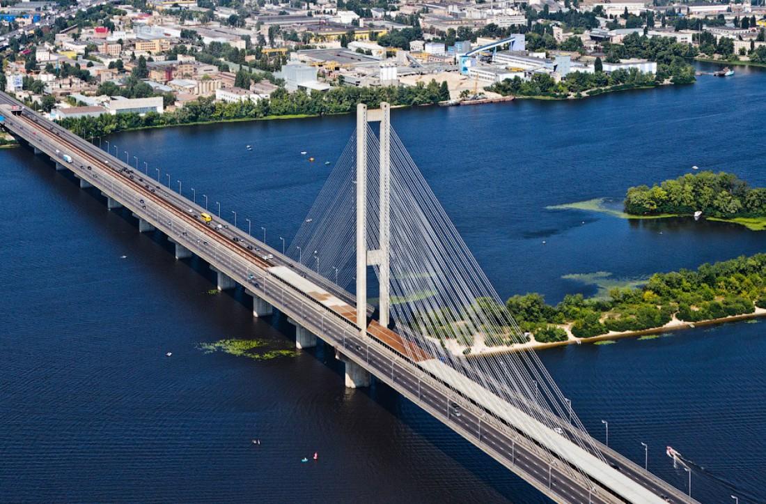 Южный мост. Вид сверху