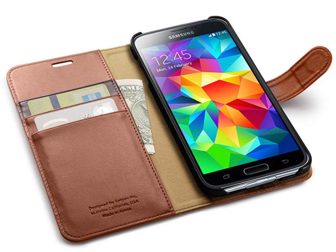 Galaxy S5 Spigen Case — 580 гривен
