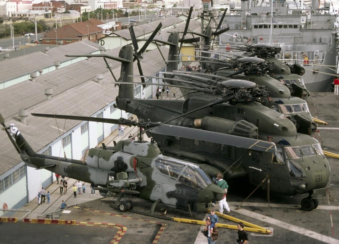 Авиапарк Bell AH-1 Super Cobra (все кроме первого)