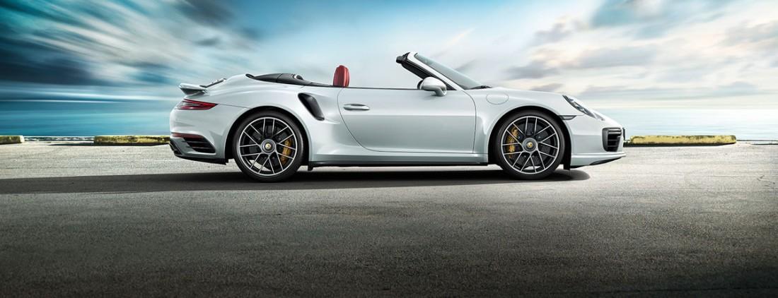 №7. Porsche 911 Turbo S Cabriolet 2016 — $200,4 тысяч