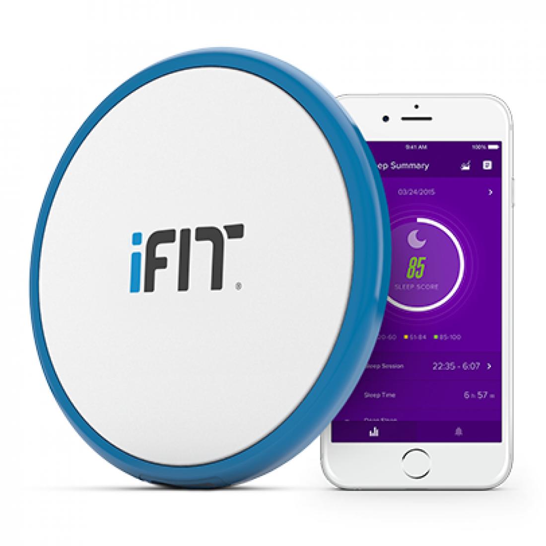 iFit Sleep HR — трекер сна, который подкладывается под матрас