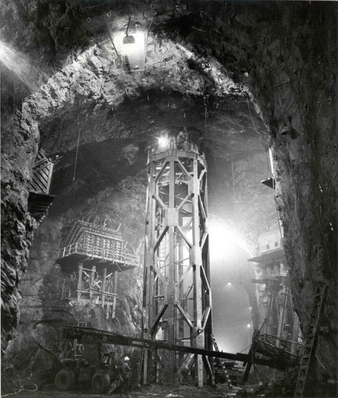 Внутри одной из американских шахт для запуска баллистических ракет