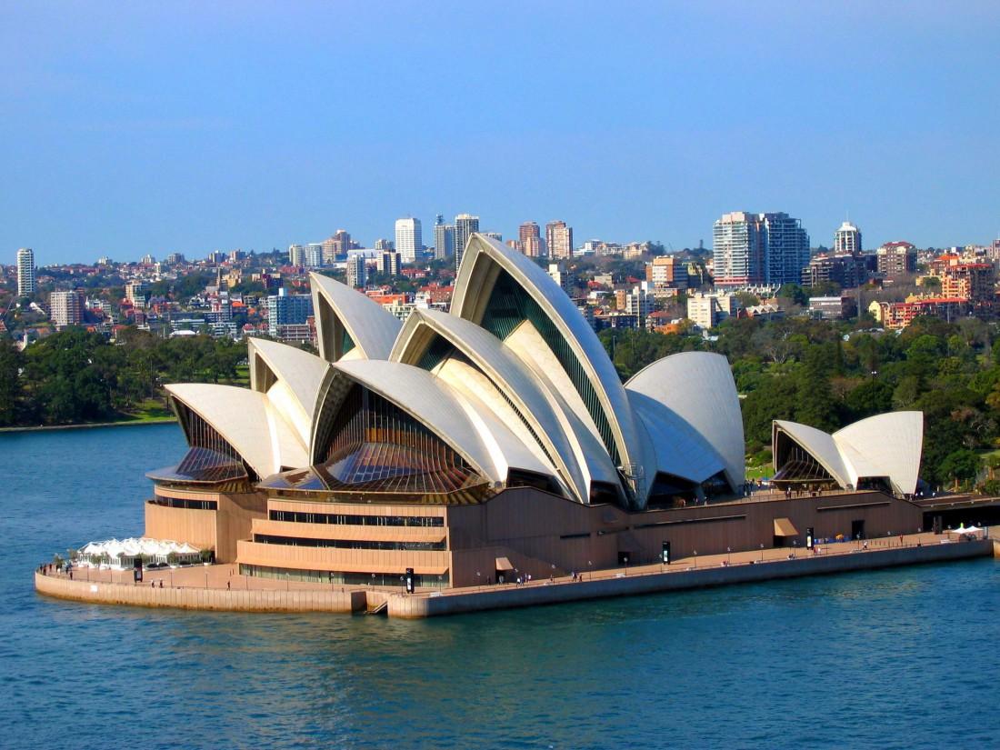Сиднейский оперный театр — объект Всемирного наследия ЮНЕСКО