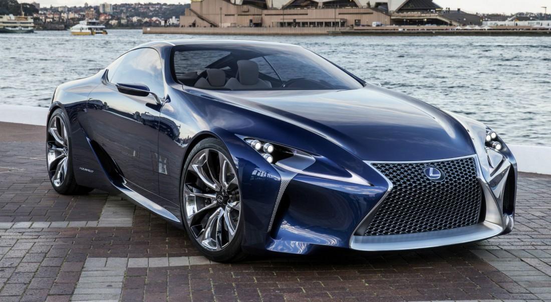 Концепт Lexus LF-LC. Дебют авто запланирован на 2016
