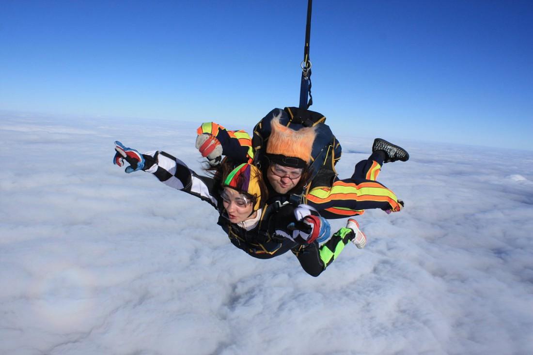 Как снять стресс — прыгни с парашютом