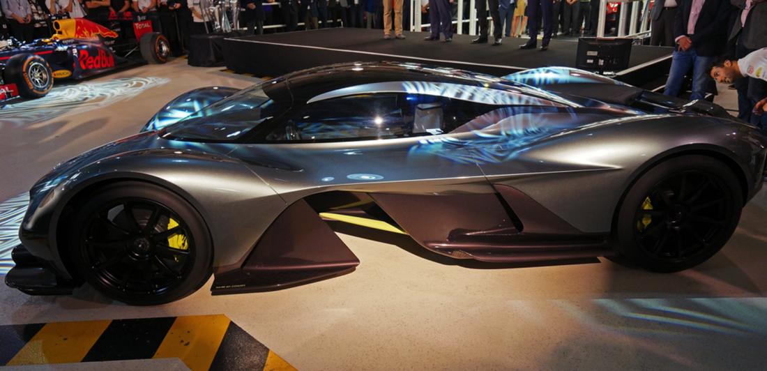 Aston Martin AM-RB 001 сможет разгоняться до 400 км / час