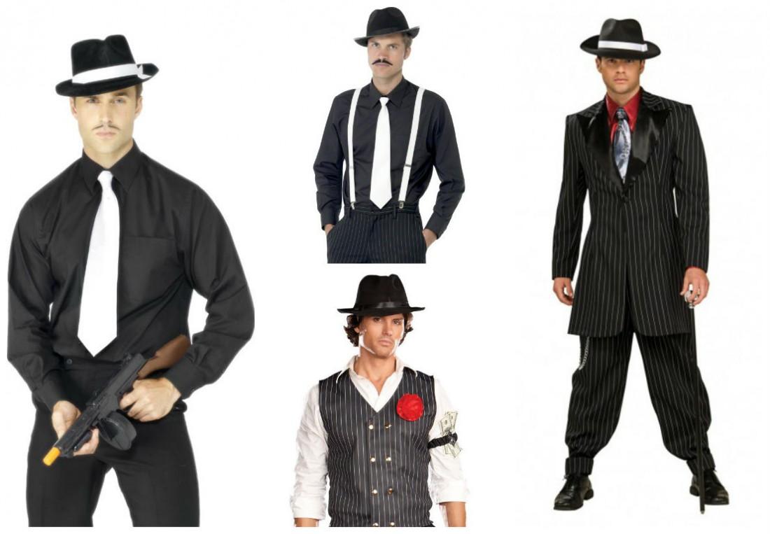 Гангстеры всегда в шляпах и часто с подтяжками