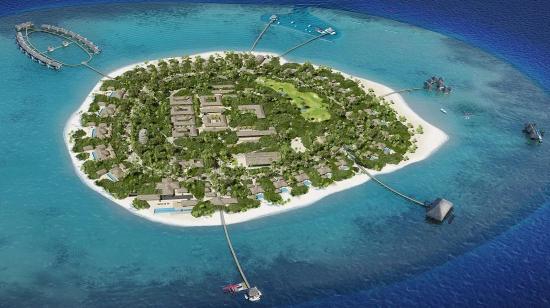 Частный остров Velaa Private Island, уже принимающий гостей
